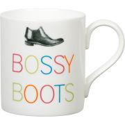 Gary Birks Slogan Mug - Bossy Boots
