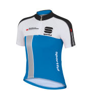 Sportful Kids' Gruppetto Short Sleeve Jersey - Blue