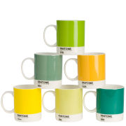 Pantone Universe Set of 6 Mugs - Mixed Greens