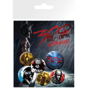 300 Rise of an Empire - Badge Pack
