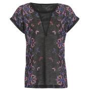 Damned Delux Women's Mai Tai T-Shirt - Black/Multi