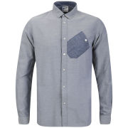 Boxfresh Men's Cophie Chambray Shirt - Blue