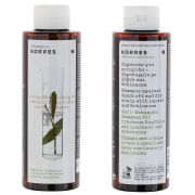 Korres Shampoo Liquorice and Urtica For Oily Hair (250ml)