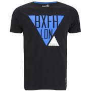 Boxfresh Men's Lacuna Triangle Graphic T-Shirt - Black