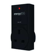 Smart Sensor Energy Egg Additional Single Plug Socket - Black