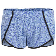Neon Rose Women's Zig Zag Shorts - Blue