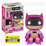 DC Comics Batman 75th Anniversary Pink Rainbow Batman EE Exclusive Pop! Vinyl Figure