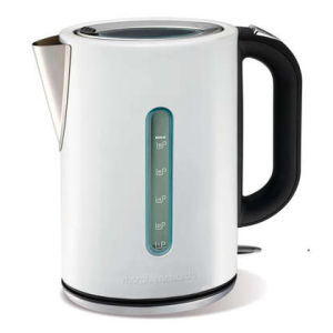 Morphy Richards Elipta S/S Jug Kettle - White