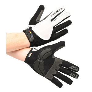 LOOK Men's Road Race Gloves - Black/White