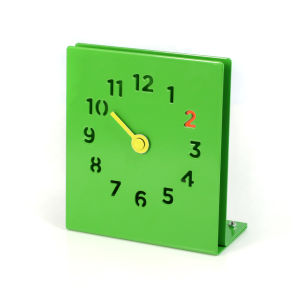 Desk Clock - Green