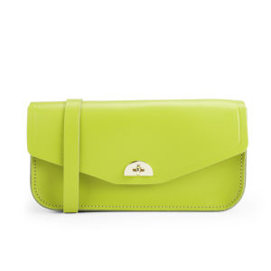 The Cambridge Satchel Company Leather Clutch Bag - Apple Green