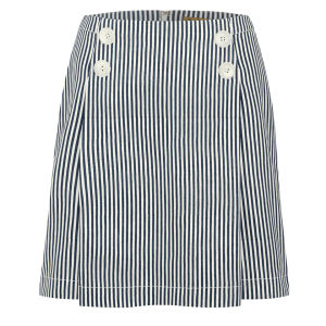 Peter Jensen Women's Sailor Skirt - Navy Candy Stripe