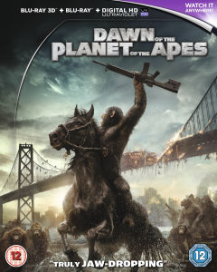 Dawn of the Planet of the Apes 3D (Includes UltraViolet Copy)