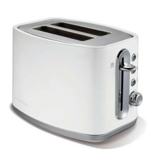 Morphy Richards Elipta S/S Toaster - White