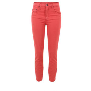 Nobody Women's Cult Crop Skinny Jeans - Hellion