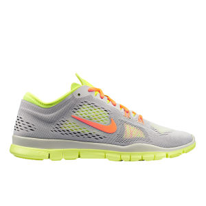 Nike Women's Free 5.0 TR Fit Running Shoes - Light Grey