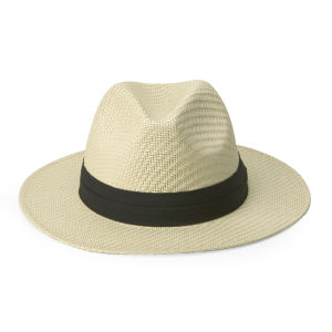 Boardman Bros Women's Classic Straw Hat - Natural/Black