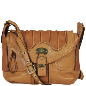 Mischa Barton Jersey Large Cross Body bag - Tan
