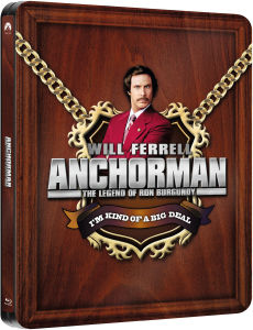 Anchorman: The Legend of Ron Burgundy - Steelbook Exclusivo de Zavvi (Edición Limitada)