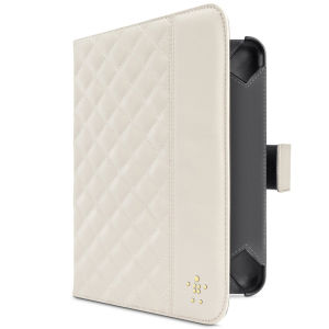 Belkin Quilted Case with Stand for iPad Mini - Cream