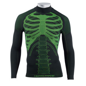 Northwave Body Fit Evo-Long Sleeves - Black/Fluo