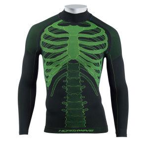 Northwave Body Fit Evo-Long Sleeves - Black/Fluo