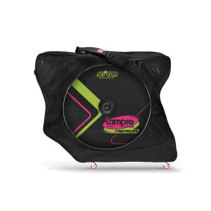 Scicon AeroComfort 2.0 TSA Bike Bag Padlock and External Lateral Shields - Black - Lampre Merida Logo