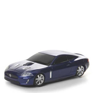 Road Mice Jaguar XKR Blue Wireless Mouse