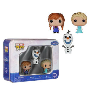 Disney Die Eiskönigin Pocket Mini Funko Pop! Figuren 3er Pack