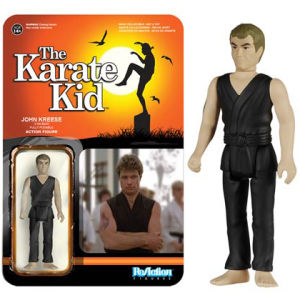 ReAction Karate Kid Kreese 3 3/4 Inch Action Figure