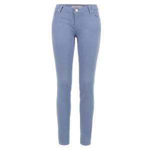 Victoria Beckham Women's VB41 Sky Chambray Power Skinny Jeans - Light Blue