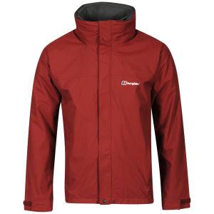 Berghaus Men's 3-in-1 Jacket - Dark Red/Dark Grey