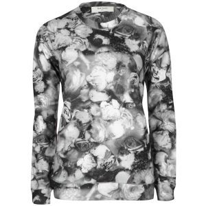 Paul by Paul Smith Women's Printed Sweatshirt - Smoke