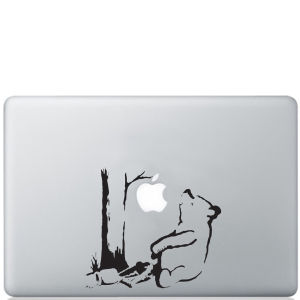 Banksy Winnie the Pooh Bear Macbook Decal