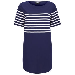 A.P.C. Women's Baseball Dress - Dark Navy