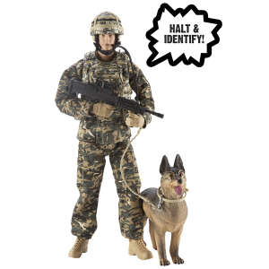 H.M. Armed Forces: RAF Police Dog Handler