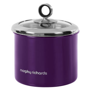 Morphy Richards Accents Small Storage Canister - Plum