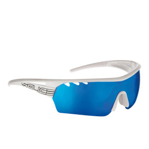 Salice 006 Sports Sunglasses - White/Blue