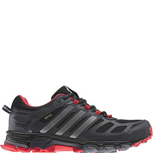 Adidas Men's Response Trail 20 Running Shoe - Gtx Black/Tech Silver Met/Hi-Res Red