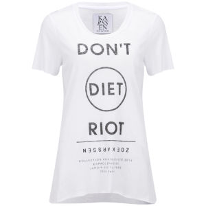Zoe Karssen Women's Diet T-Shirt - White