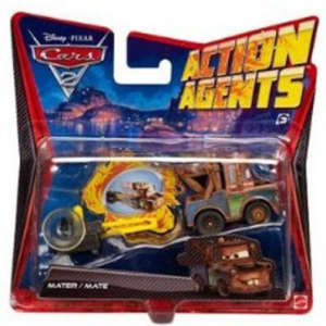 Cars 2: Action Agents Vehicle & Launcher Mater