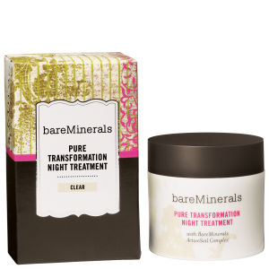bareMinerals Pure Transformation Night Treatment - Clear (4.2g)