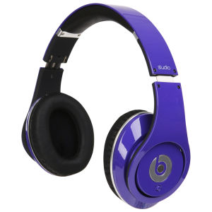 Beats by Dr. Dre: Studio Noise Cancelling HD Headphones with Microphone - Purple