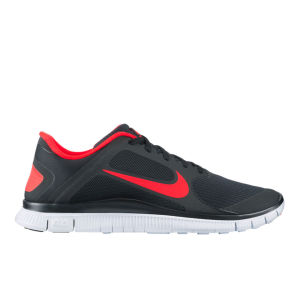 Nike Men's Free Run 4.0 V3 Running Shoes - Black/White