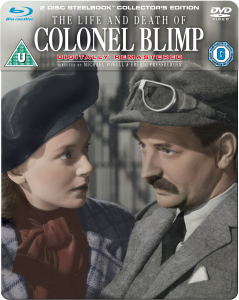 The Life and Death of Colonel Blimp - Steelbook Collector's Edition (Blu-Ray and DVD)