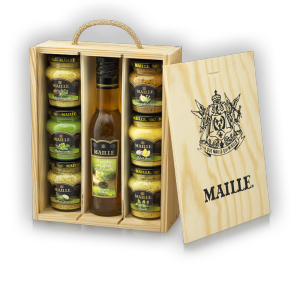 Coffret de Condiments Herbes Et Aromates Bois