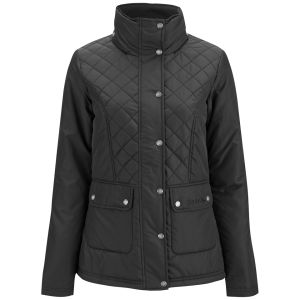 Bench Women's Antartic Hooded Jacket - Black
