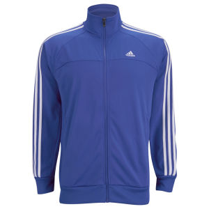 adidas Men's Essential 3 Stripe Track Top - Blue/White