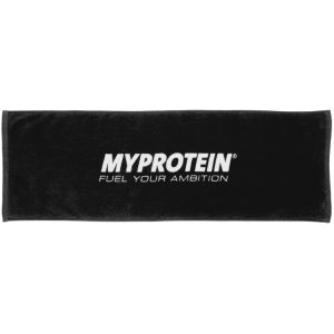 Myprotein Gym Towel  - Black