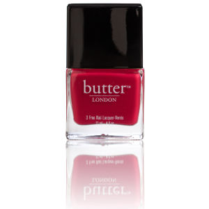 butter LONDON 3 Free Lacquer - Blowing Raspberries 11ml